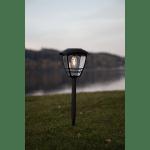 LED dārza gaismeklis ar saules bateriju Star Trading Felix 45cm, 10lm, IP44