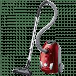 Putekļu sūcējs ar maisiņu Electrolux EasyGo 750W, EEG43WR, H12, sarkans