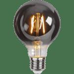 Dekoratīvā LED spuldze E27 G80 Plain Smoke 1,8W, 80lm, 2100K