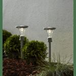 LED dārza gaismekļi ar saules baterijām 2gb. Star Trading Turin 47cm, 5lm, IP44