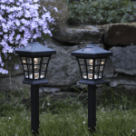 LED dārza gaismekļi ar saules baterijām 2gb. Star Trading Nippon 33cm, IP44