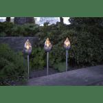 LED dārza gaismekļi ar saules baterijām 3gb. Star Trading Olympus 40cm, IP44