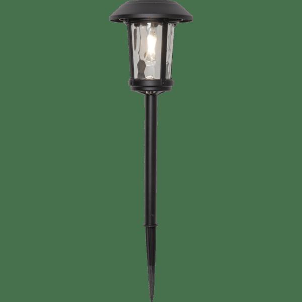 LED dārza gaismeklis ar saules bateriju Star Trading Florian Alu 47cm, 15lm, IP44