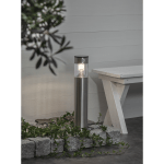 LED gaismeklis ar saules bat. un kustību sens. Star Trading Marbella 50cm, 80lm, IP44