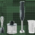 Rokas blenderis ar piederumiem Electrolux Create 4 600W, E4HB1-6GG, melns