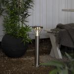 LED dārza gaismeklis ar saules bateriju Star Trading Narona 50cm, 15LED, 40lm, IP44