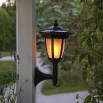 LED gaismeklis ar saules bateriju Star Trading FLAME 3in1, ar kāju 63cm, 24LED, IP44