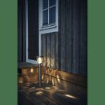LED dārza gaismeklis ar saules bateriju Star Trading Pireus 61cm, 20lm, IP44