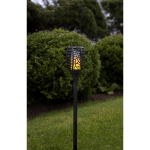 LED dārza gaismeklis ar saules bateriju Star Trading FLAME 3in1 54cm, 36LED, IP44