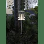 LED dārza gaismeklis ar saules bateriju Star Trading Valencia 64.5cm, 6LED, 15lm, IP44