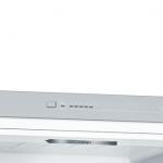 Ledusskapis ar saldētavu Bosch Serie | 4, 201x60cm, inox dizaina, KGV392LEA