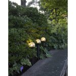 LED dārza gaismekļi ar saules baterijām 3gb. Star Trading Roma, 23cm, IP44