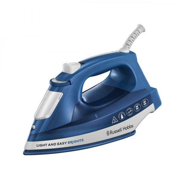 Tvaika gludeklis Russell Hobbs Light & Easy Brights Sapphire 24830-56, 2400W