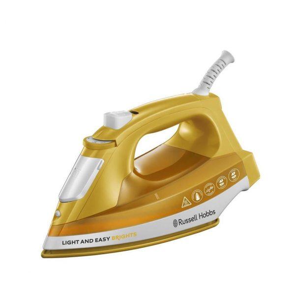Tvaika gludeklis Russell Hobbs Light & Easy Brights Mango 24800-56, 2400W