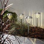 LED dārza gaismekļi ar saules baterijām 4gb. Star Trading Palma 28cm, IP44