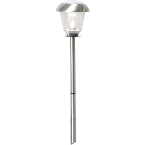 LED dārza gaismeklis ar saules baterijām Star Trading Napoli 66cm, 14lm, IP44