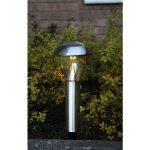 LED dārza gaismeklis ar saules baterijām Star Trading Napoli 36cm, 14lm, IP44