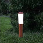 LED dārza gaismeklis ar saules bateriju Star Trading Cordoba 40cm, 20lm, IP44