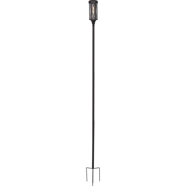 LED dārza gaismeklis ar saules bateriju Star Trading Folke 180cm, 10lm, IP44