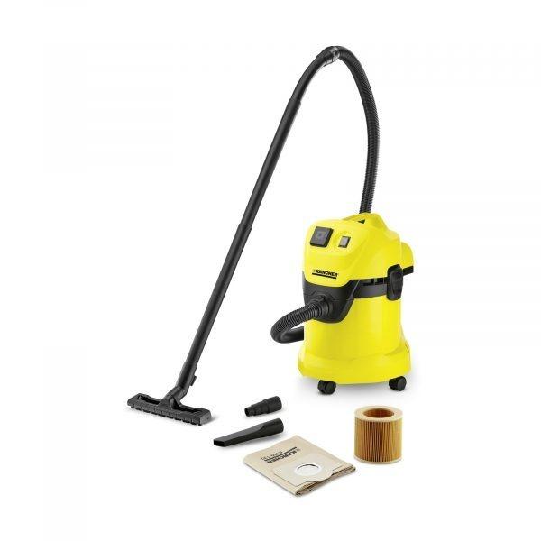 Putekļu sūcējs sausai un slapjai sūkšanai Kärcher WD 3 P *EU-I, 1000W, 200AW, 17l