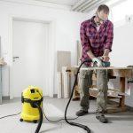 Putekļu sūcējs sausai un slapjai sūkšanai Kärcher WD 3 Workshop, 1000W, 200AW, 17l