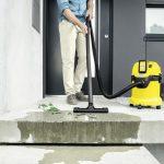 Bezvadu putekļu sūcējs sausai un slapjai sūkšanai Kärcher WD3 *INT (Bez akumulatora)