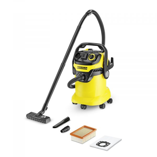 Putekļu sūcējs sausai un slapjai sūkšanai Kärcher WD 5 P *EU-II, 1100W, 240AW, 25l