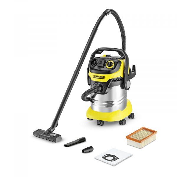 Putekļu sūcējs sausai un slapjai sūkšanai Kärcher WD 5 P Premium *EU-II, 1100W, 240AW, 25l