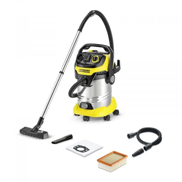 Putekļu sūcējs sausai un slapjai sūkšanai Kärcher WD 6 P Premium *EU-I, 1300W, 260AW, 30l