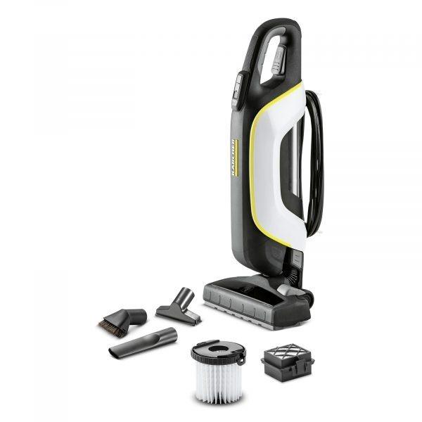 Rokas putekļu sūcējs bez maisiņa Kärcher VC 5 Premium *EU-I, 500W, HEPA, balts