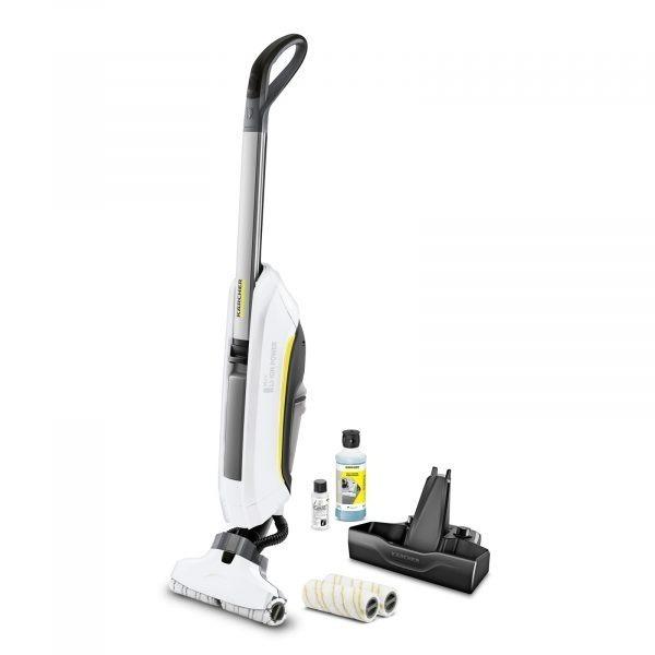 Bezvadu grīdas mazgātājs Kärcher FC 5 Cordless Premium *EU, 25.2V, Li-ion, balts