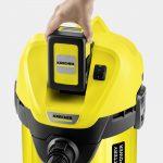 Putekļu sūcējs sausai un slapjai sūkšanai Kärcher WD 3 Battery Set *EU-II, 300W, 2,5Ah