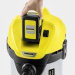 Universālais putekļu sūcējs Kärcher WD 3 Battery Premium Set *EU-II, 300W, 2,5Ah, 17l