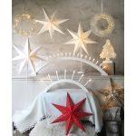 LED dekorācija Zvaigzne DOT, Star Trading, sarkana, 54x54cm, E14, Max. 25W, IP20