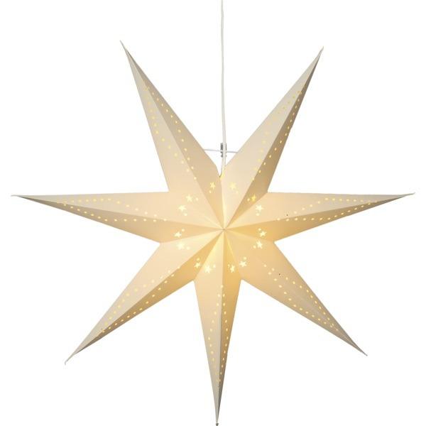LED dekorācija papīra zvaigzne KATABO,Star Trading, 70cmx 70cm, E14 Max. 25W, IP20