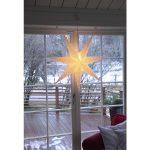 LED dekorācija Zvaigzne SENSY, Star Trading, balta, 1x1m, E14, Max. 25W, IP20