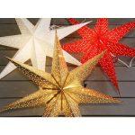 LED dekorācija Zvaigzne DOT, Star Trading, balta 70x70cm, E14, Max. 25W, IP20