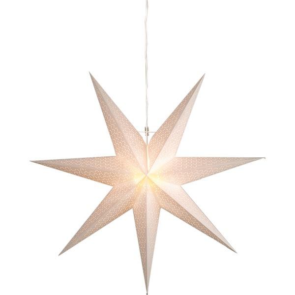 LED dekorācija Zvaigzne DOT, Star Trading, balta, 1x1m, E14, Max. 25W, IP20