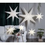 LED dekorācija Zvaigzne FROZEN, Star Trading, balta, 1x1m, E14, Max. 25W, IP20