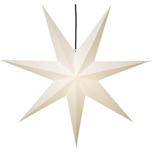 LED dekorācija Zvaigzne FROZEN, Star Trading, balta, 1.4x1.4m, E27, Max. 25W, IP20