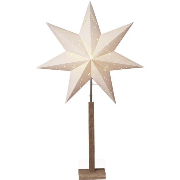 LED dekorācija Zvaigzne KARO, Star Trading, balta, 1mx60cm, E14, Max. 25W, IP20