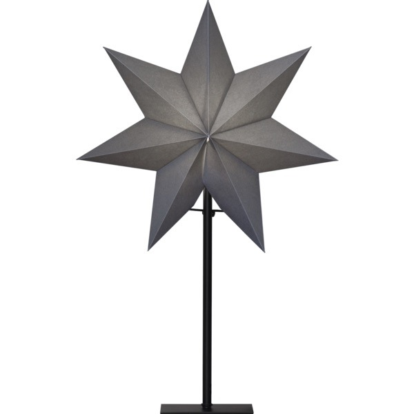 LED dekorācija Zvaigzne OZEN, Star Trading, balta, 55x34cm, E14, Max. 25W, IP20