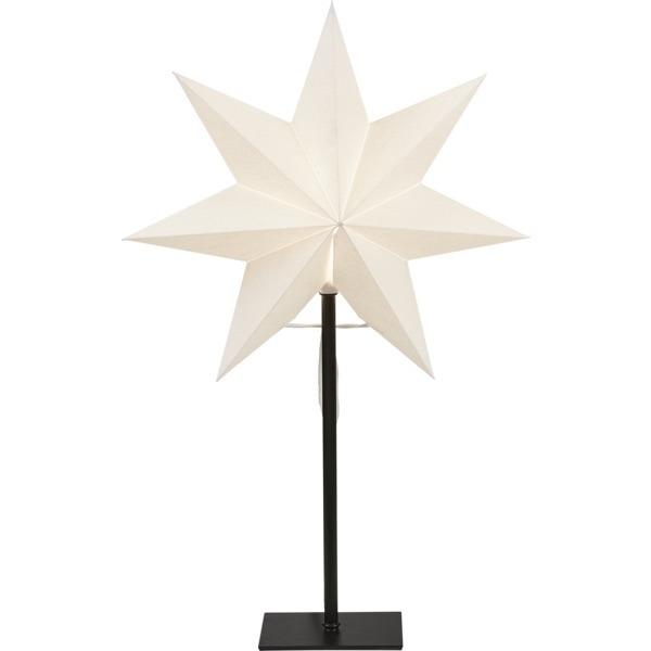 LED dekorācija Zvaigzne FROZEN, Star Trading, balta, 55x34cm, E14, Max. 25W, IP20