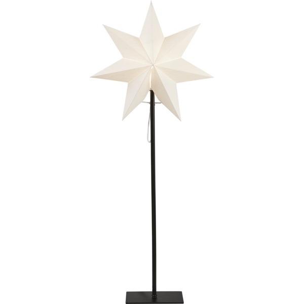 LED dekorācija Zvaigzne FROZEN, Star Trading, balta, 85x34cm, E14, Max. 25W, IP20