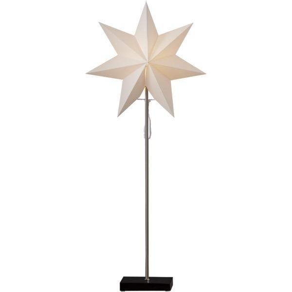 LED dekorācija Zvaigzne TOTTO, Star Trading, melna, 80x34cm, E14, Max. 25W, IP20
