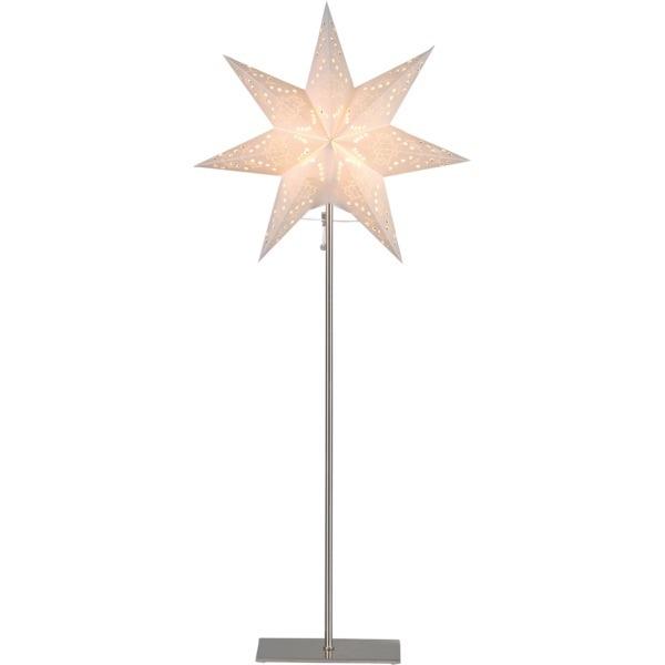 LED dekorācija Zvaigzne SENSY, Star Trading, balta, 83x34cm, E14, Max. 25W, IP20