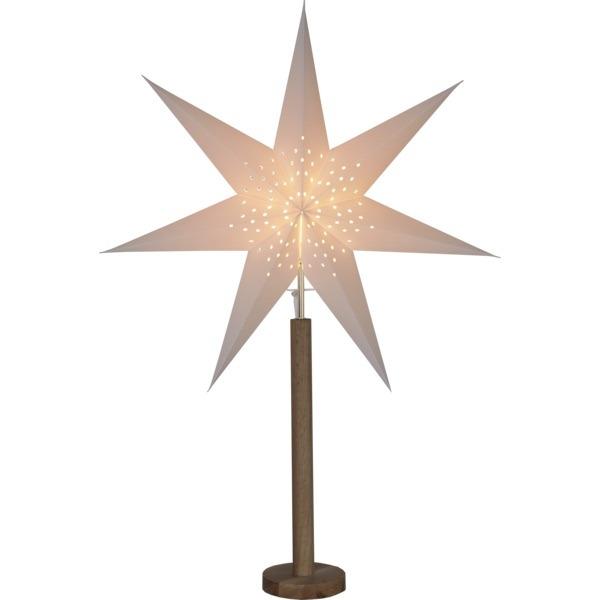 LED dekorācija Zvaigzne ELICE, Star Trading, balta, 85x60cm, E14, Max. 25W, IP20