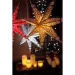 LED dekorācija Zvaigzne ANTIQUE, Star Trading, zelta, 60x60cm, E14, Max. 25W, IP20