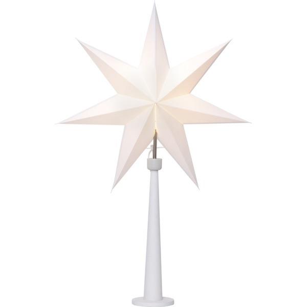 LED dekorācija Zvaigzne PAINT SNOW, Star Trading, balta, 80x54cm, E14, Max. 25W, IP20