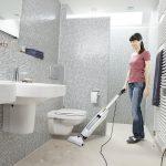 Grīdas mazgātājs Kärcher FC 5 Premium *EU, 460W, balts, 7m strāvas vads